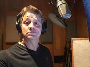 Cameron Audiobook recording